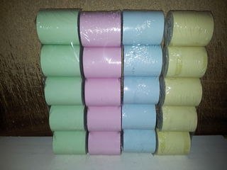 10 Thermal Rolls 57 x 47 Coloured