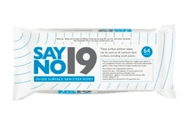 Say No 19 - Surface Wipes